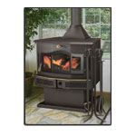 EnergyKing Bay 2012C Freestanding Fireplace
