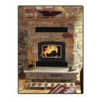 EnergyKing Silhouette 2850C Zero Clearance Fireplace Insert