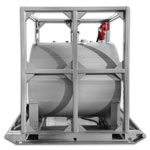 600 Gallon Marine Fuel Tank - Double Wall