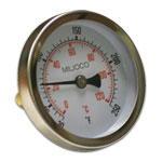 Miljoco B259951-2W Temperature Gauge 1/2