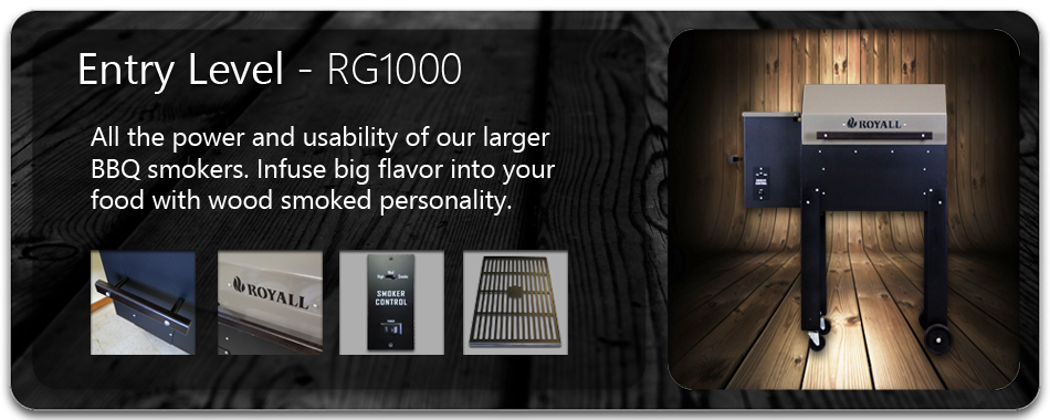 RG1000 Wood Pellet BBQ Grill and Smoker