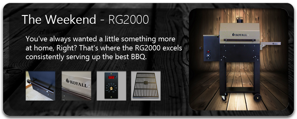 RG2000 Wood Pellet BBQ Grill and Smoker
