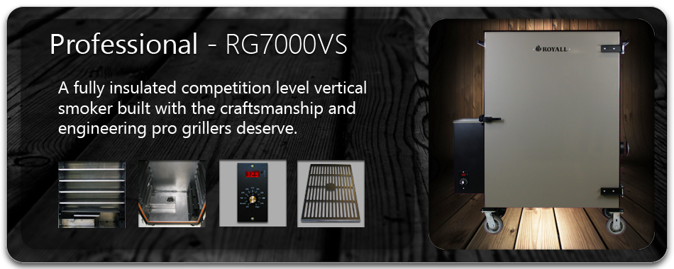 RG7000VS Wood Pellet BBQ Grill and Smoker