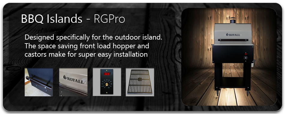 RGPro Wood Pellet BBQ Grill and Smoker