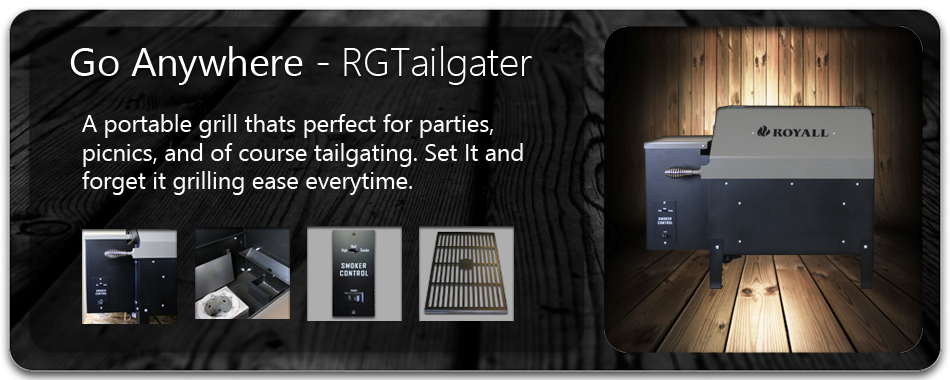 RGTailgater Wood Pellet BBQ Grill and Smoker