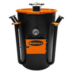Ironman Ugly Drum Smoker Orange UDS