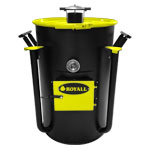 Ironman Ugly Drum Smoker Yellow UDS