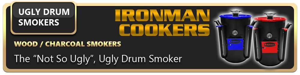 Ironman Ugly Drum Smoker