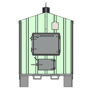 American Royall 7400-A Outdoor Boiler