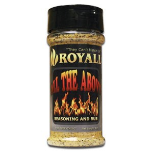 All Purpose Seasoning and Rub - Royall All The Above