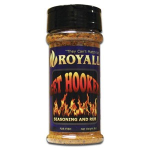 Fish and Seafood Seasoning and Rub - Royall Get Hooked