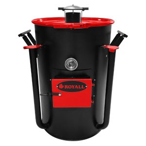 Ironman Ugly Drum Smoker Red UDS