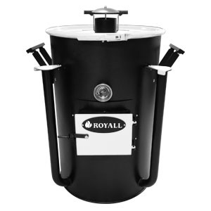 Ironman Ugly Drum Smoker White
