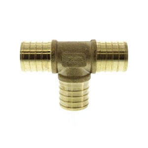 "PEX Crimp Ring Fitting 0.75"" Tee"