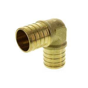 "PEX Crimp Ring Fitting 1.0"" Elbow"