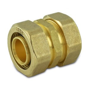 "Compression Fitting 1"" PEX-AL-PEX Coupling"