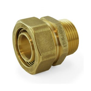 "Compression Fitting 1"" PEX-AL-PEX Male"