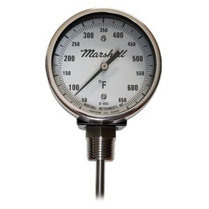 Thermometer 650 Degree 3""
