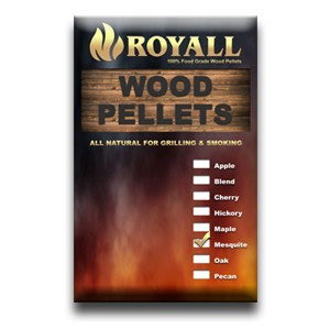 Wood Pellets - Mesquite 40# Bags